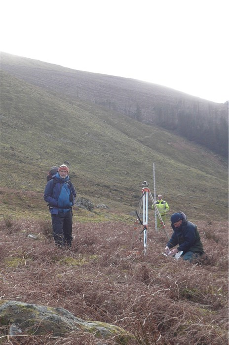 Final survey of pipeline route  Rod Gritten Ecologist Kevin Williams Contractor John Howarth  3 March 2015