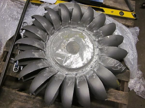 Our Canyon turbine runner is cast